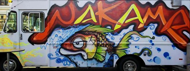 Nakama Food Truck Menu